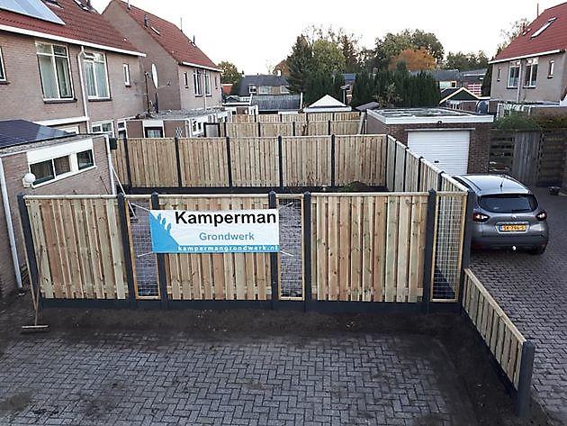 Schuttingen met lange levensduur - Kamperman Grondwerk Groningen Scheemda