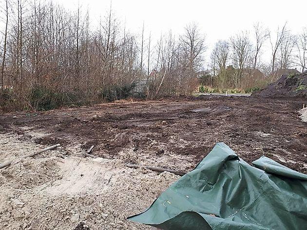 Tuinaanleg door de vakkundige hovenier - Kamperman Grondwerk Groningen Scheemda