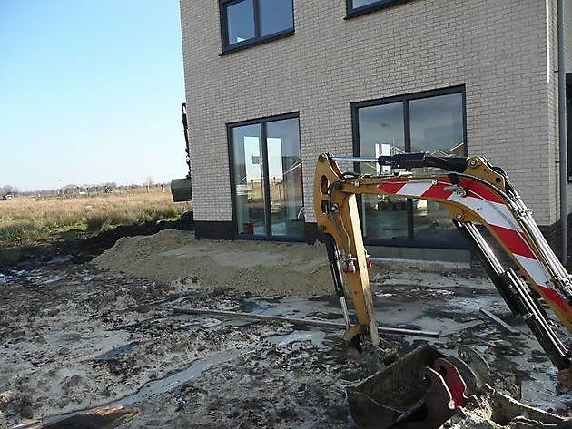 Graafwerk leeuwerik Blauwestad - Kamperman Grondwerk Groningen Scheemda