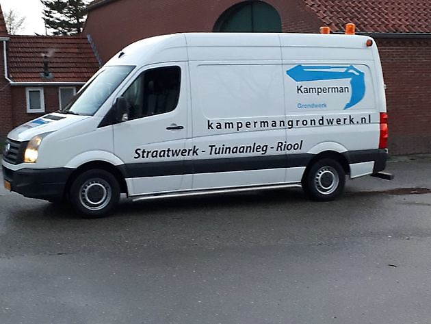 Nieuwe bus - Kamperman Grondwerk Groningen Scheemda