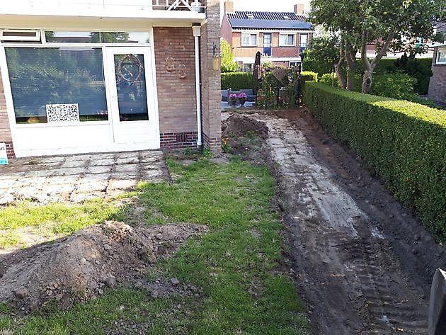 tuin Barklaan Delfzijl - Kamperman Grondwerk Groningen Scheemda