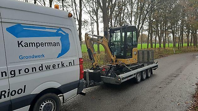 nieuwe machine - Kamperman Grondwerk Groningen Scheemda