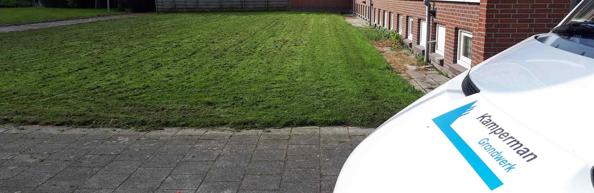 Grasmaaien - Kamperman Grondwerk Groningen Scheemda