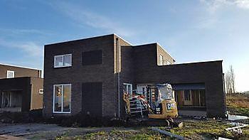 Rioolwerkzaamheden Blauwestad - Kamperman Grondwerk Groningen Scheemda