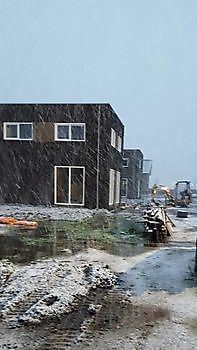 Rioolwerkzaamheden Blauwestad Kamperman Grondwerk Groningen Scheemda