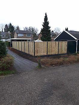 Schuttingen met lange levensduur Kamperman Grondwerk Groningen Scheemda
