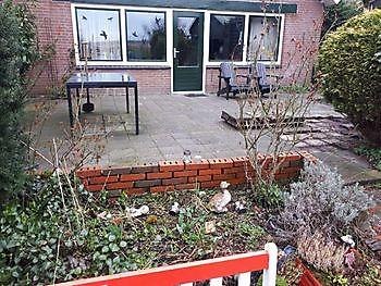 tuin  Finsterwolde Kamperman Grondwerk Groningen Scheemda