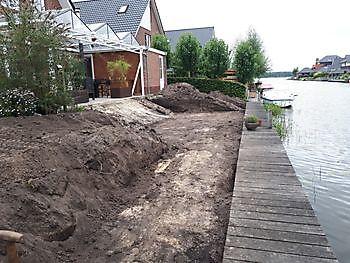 grondwerk Watersnip Blauwestad Kamperman Grondwerk Groningen Scheemda