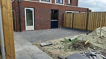 tuin golfpark Veendam Kamperman Grondwerk Groningen Scheemda