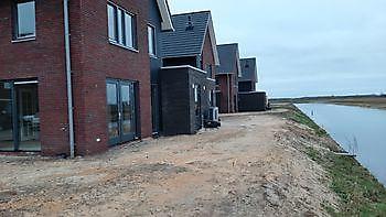4 verschillende tuinen klaar maken Kamperman Grondwerk Groningen Scheemda